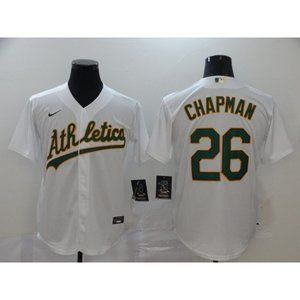 Oakland Athletics Matt Chapman White Jersey